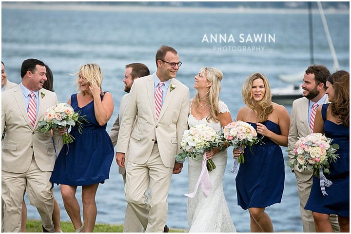 Stonington_Beach_Wedding_WadawanuckClub_AnnaSawinPhotography_StoningtonCT_NavyBlueBridesmaids_ConnecticutShoreline_013